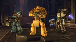 Space Marines threesome