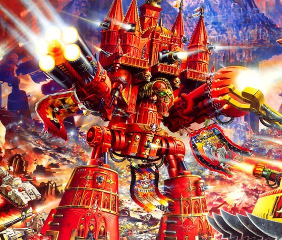 Emperor Titan - ready for the Ultimate Apocalypse