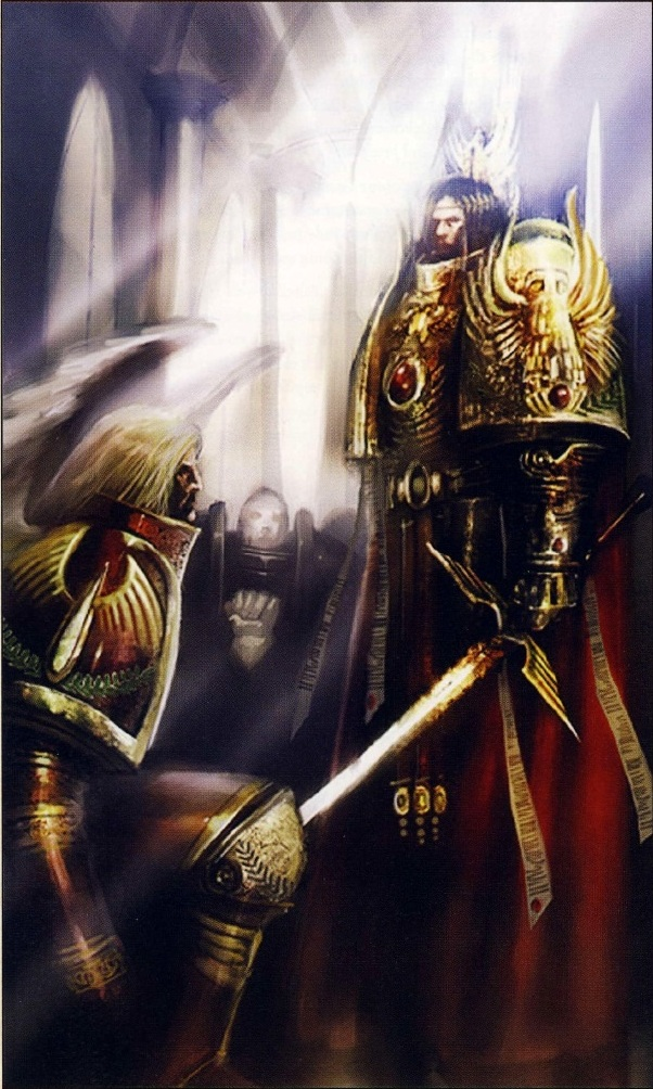 Sanguinius & The God Emperor of Mankind
