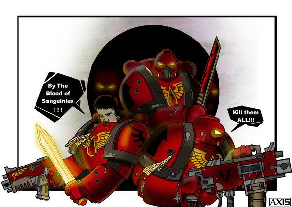 Warhammer - Blood angels  - war time