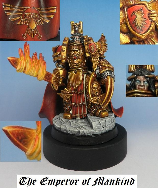 The Emperor model image - Space Marines Fan Group Warhammer
