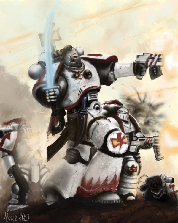 Pre heresy White Scars tactical squad