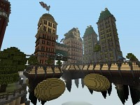 Columbia in Minecraft