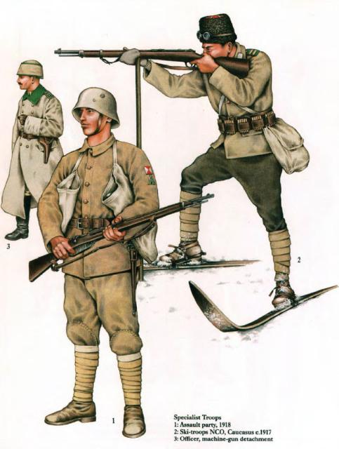 Ottoman Soldiers WW1