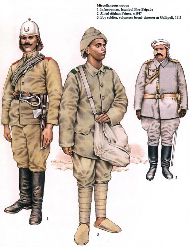 Ottoman Soldiers 1914-18 image - WW1 Reference Group - Mod DB