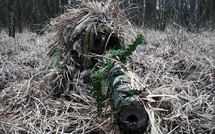 Sniper Ghillie suit Wallpaper jk78l