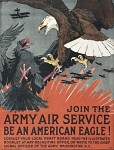 World War 1 poster - eagle