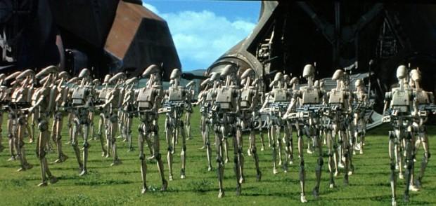 Droid army star wars