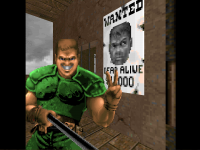 A Fistful of Doom - Doomguy takes a Selfie