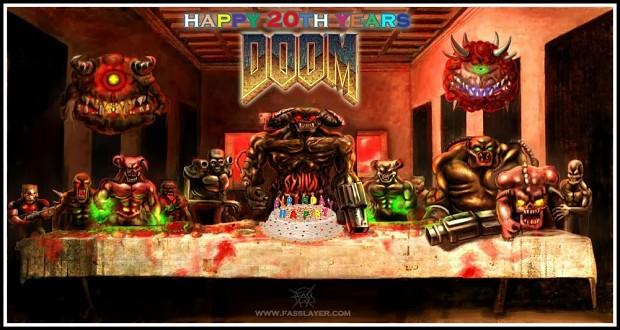 20 years of DOOM II