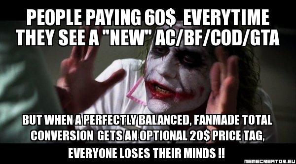 Black Mesa's Paid Release