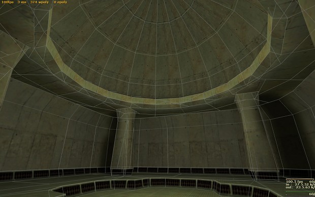 Curved room