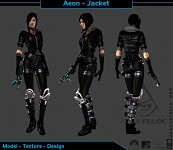 Aeon Flux 3D Renditions