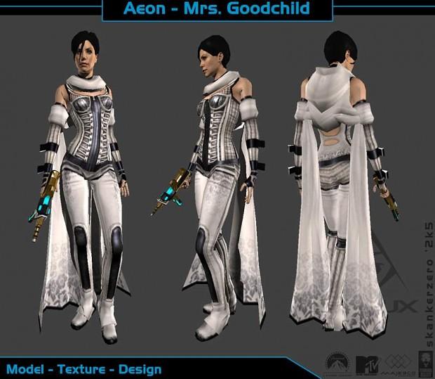 Aeon Flux 3D Renditions