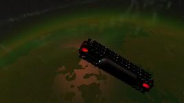 Spaceship in Atmosphere