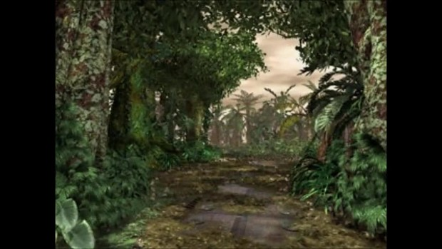 Dino Crisis 2 (2000) Pre-Rendered Backgrounds