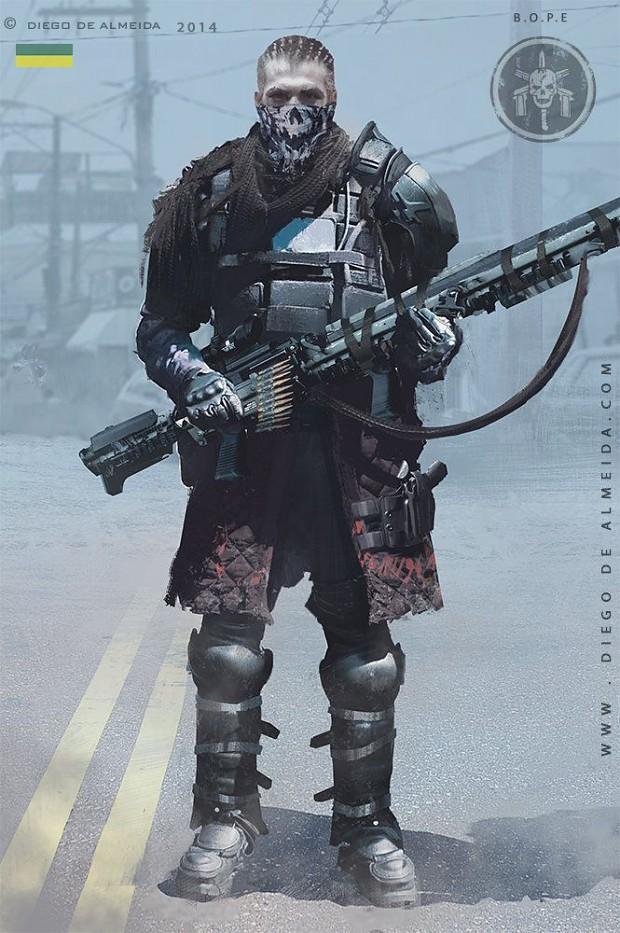 future bope concept art image ashes of dystopia mod db