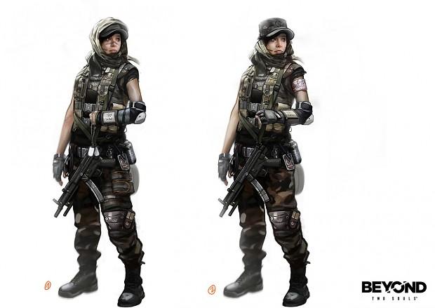 Concept Art Modern Soldier