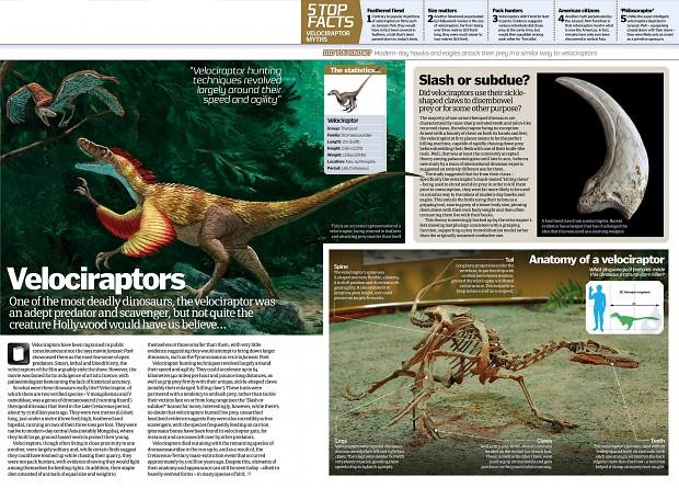 Velociraptor - science