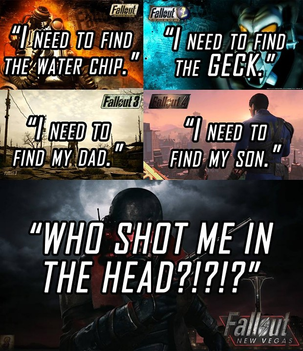 The fallout series.