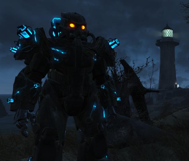 Fallout 4, X-02 Tesla Armor mod  image - - Enclave - - Mod DB