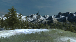 remake of albortz mountains in BF2 !