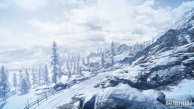 Bf3 Alborz Mountains