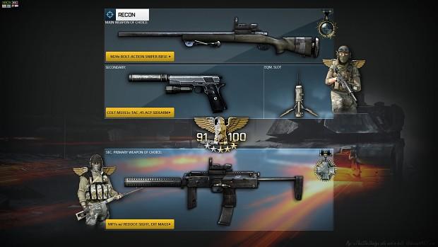 m24 w/ M1911s-TAC