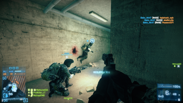 BF3 Ragdol physics fail :D
