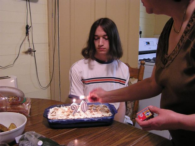 Zach's 20th Birthday