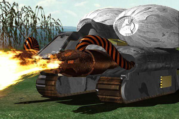 Alternate Nod Flame Tank Render