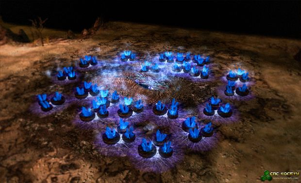 Tiberium Essence (Blue)