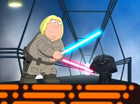 Darth Vader VS Luke  - Family Guy