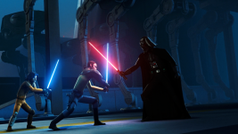 Vader vs Kanan & Ezra