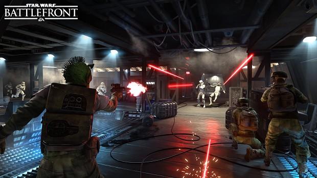 Stormtroopers vs Rebels