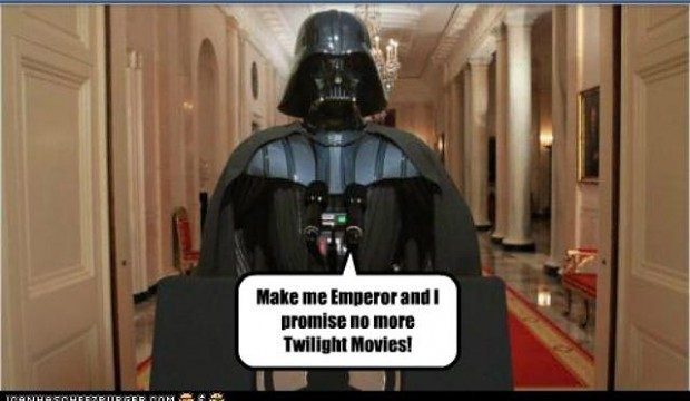 Vader's strategy to win the US election.