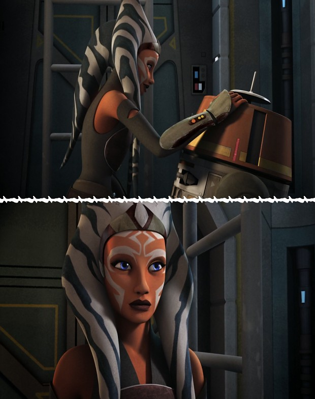 Ahsoka Tano - Star Wars Rebels - She's back! ^_^