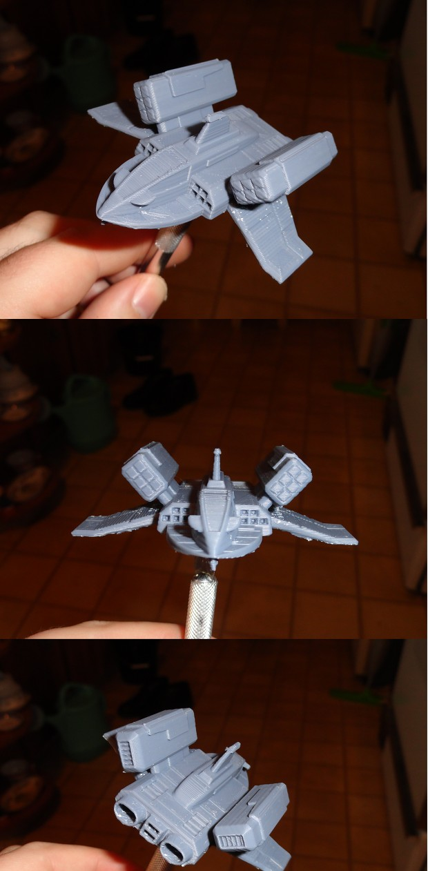 3D print Imperial Missile Boat (WIP)