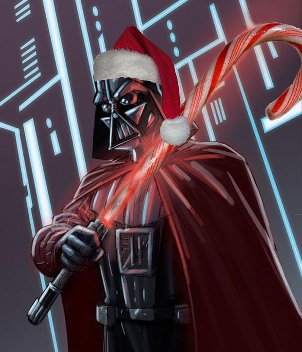 Santa Vader (Merry Christmas)