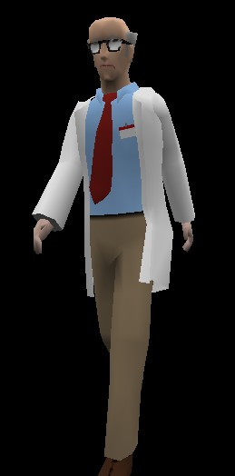 Scientist Toon Model
