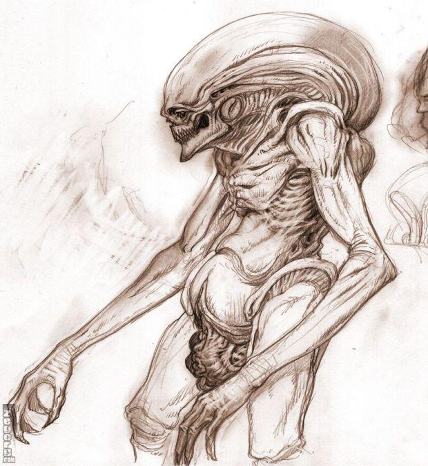 Alien Newborn