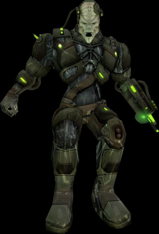Advanced Borg Drone (Ingame Graphics)