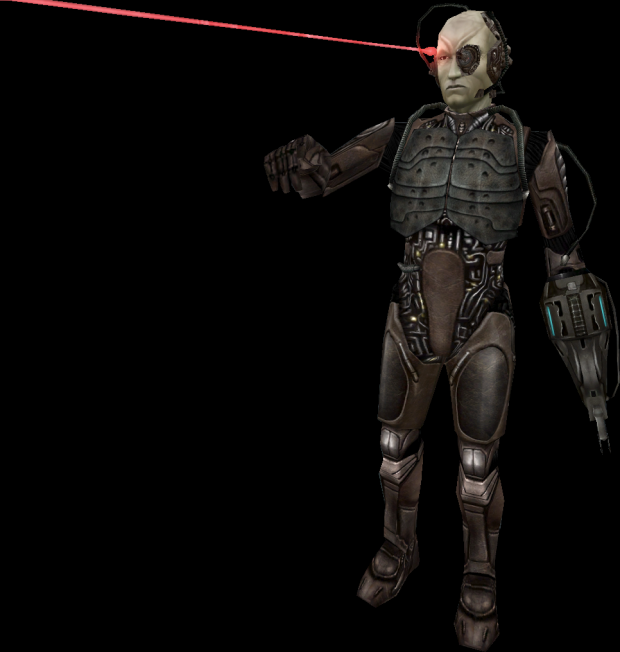 Male Borg Drone (Ingame Graphics)