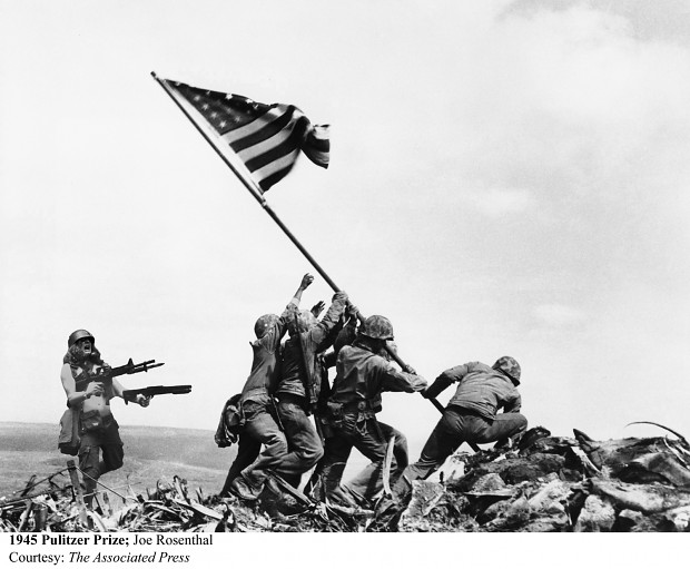 Meanwhile in Iwo Jima