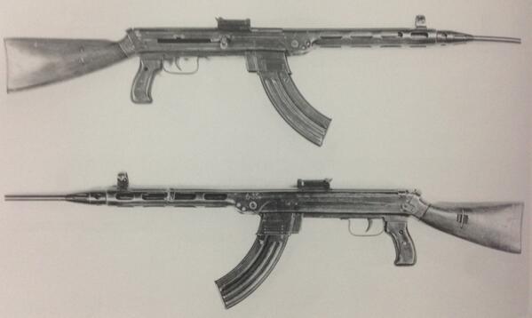Shpagin's assault rifle