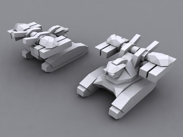 Drones Defender Tank