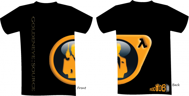 Goldeneye:Source T-shirt #1