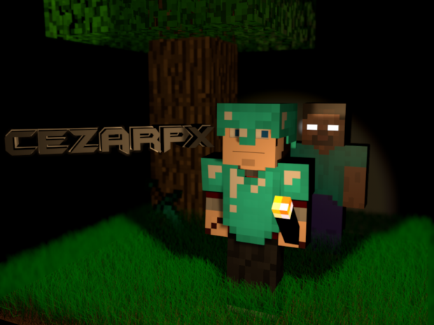 Minecraft Cinema 4D