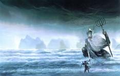 Silmarillion art pic - sea