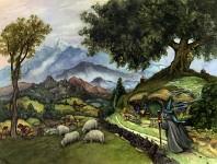 Gandalf visiting